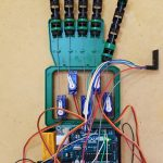 La mano robotica