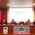 La Cisl di Latina parla di sviluppo sostenibile all'Università La Sapienza
