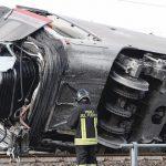 Incidente Frecciarossa: Morti i due macchinisti alla guida del treno Alta velocità.