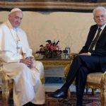 Papa Francesco e Mattarella: la speranza arriva da due grandi Uomini.
