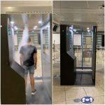 L'aeroporto di Capodichino sarà il primo in Italia munito di cabine di sanificazione anti-Covid