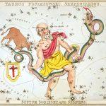 La tredicesima costellazione dello zodiaco e il simbolo dell'OMS.