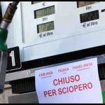 Da lunedì a mercoledì confermato lo sciopero dei benzinai