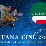 """Nel giorno dell'Epifania la CISL di Latina regala doni e sorrisi ai bambini dell'orfanatrofio """"Anton..."""