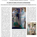 A Latina la lotta al Covid è al femminile