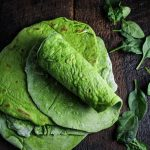 Tortillas di spinaci. Un'alternativa healthy al solito carboidrato per un pranzo veloce